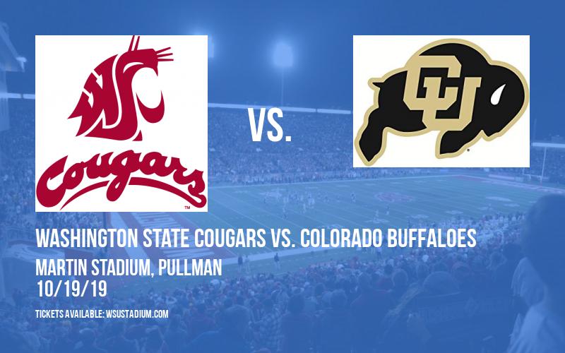 Washington State Cougars vs. Colorado Buffaloes at Martin Stadium