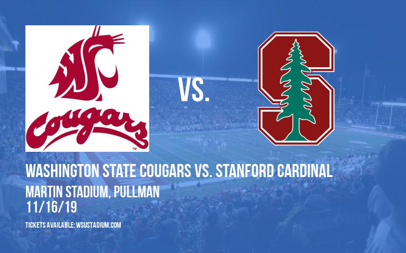 Washington State Cougars vs. Stanford Cardinal at Martin Stadium