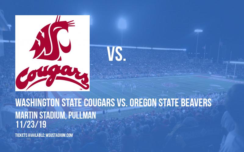Washington State Cougars vs. Oregon State Beavers at Martin Stadium