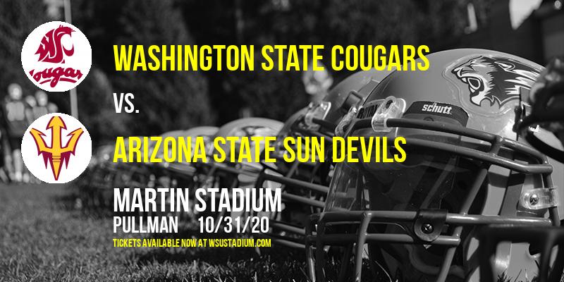 Washington State Cougars vs. Arizona State Sun Devils at Martin Stadium
