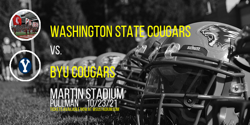 Washington State Cougars vs. BYU Cougars at Martin Stadium